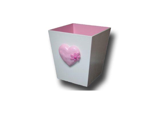 Happy Heart Dustbin - Dream Furniture