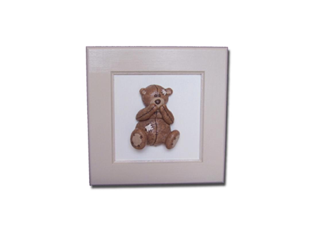 Scruffy Bear Picture - Dream Furniture