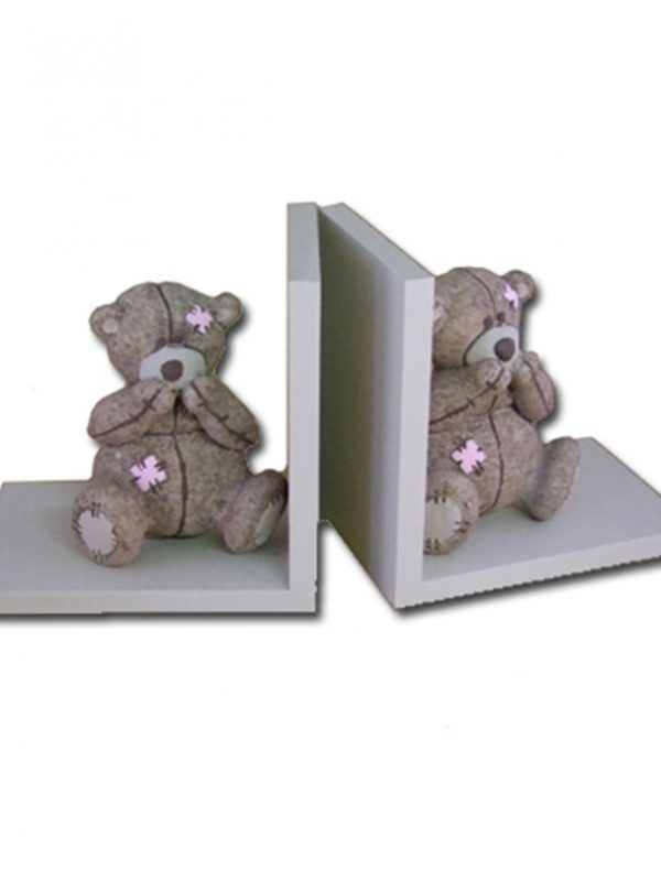 Scruffy Bear Book Ends - Dream Furniture
