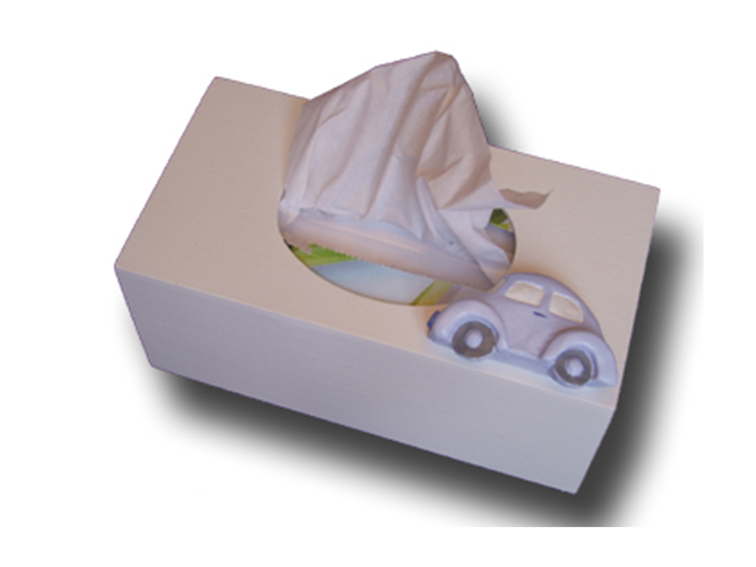 Terrific Transport Tissue Box - Dream Furniture